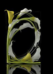 3D callas window box