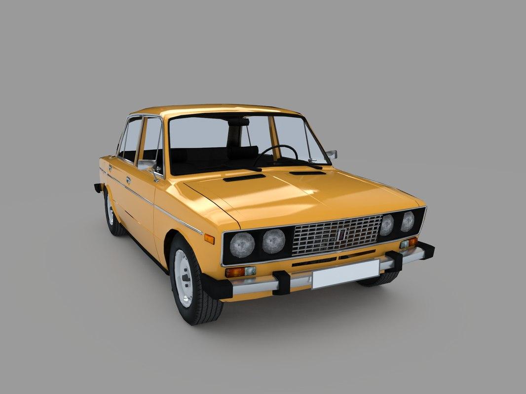 soviet russian 3D model