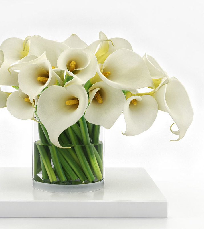 3D luxury calla lily bouquet