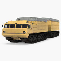 polar articulated tracked vehicle model