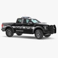 police pickup truck modern model