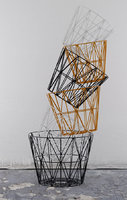 ferm living wire basket 3D model