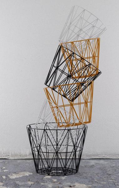 ferm living wire basket 3D model