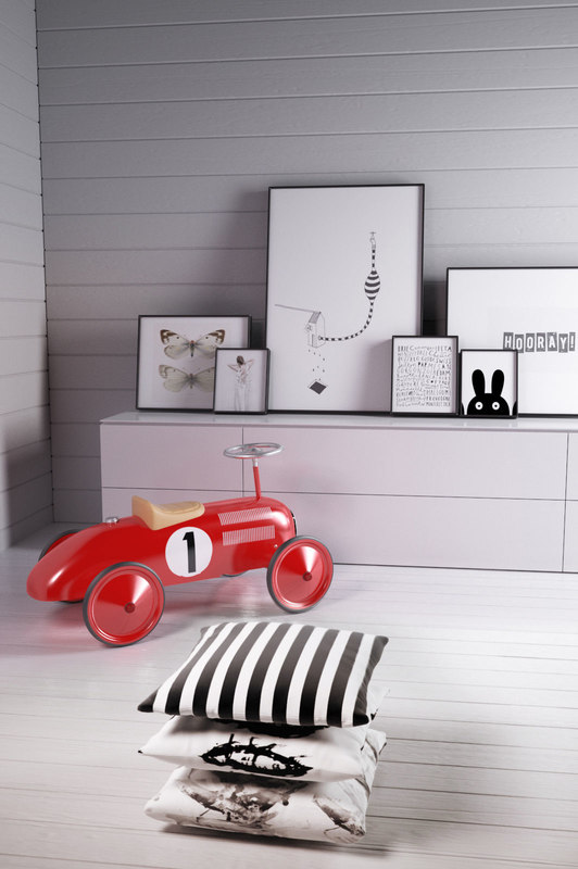3D great gizmos classic racer model
