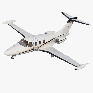 light jet eclipse 550 3D model