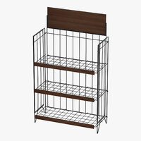 3D model display rack 03