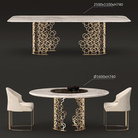 longhi manfred table 3D model