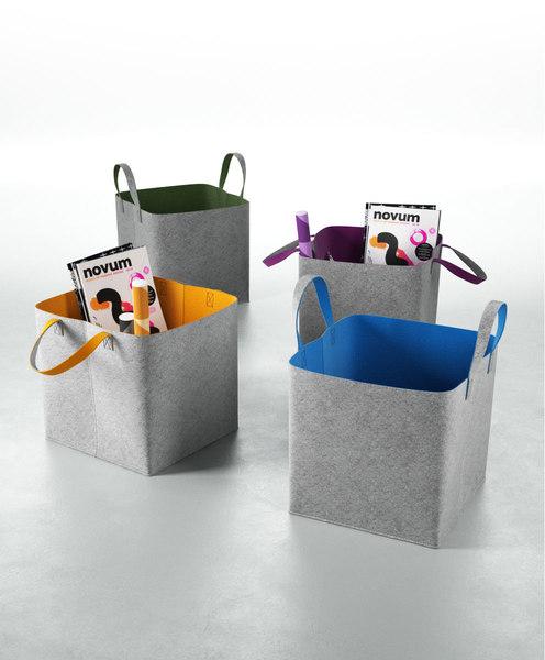 calligaris elliott storage basket model