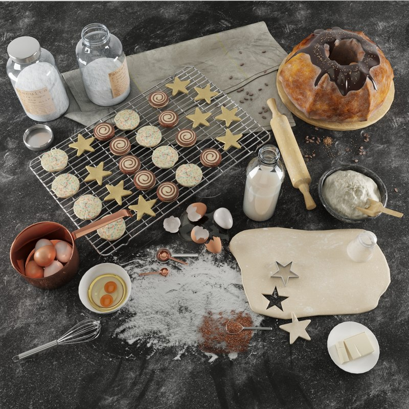 3D baking model