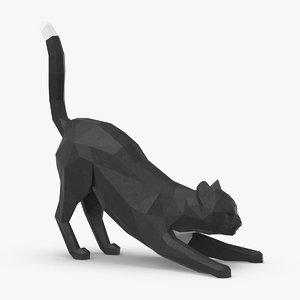 3D cat---stretching