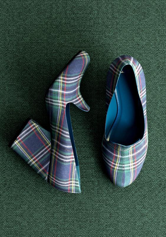 3D model sabrina vamp shoes