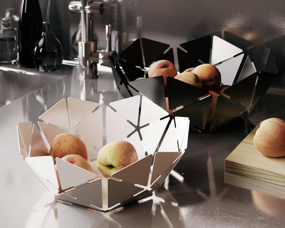 pulpo bucky bowl 3D model