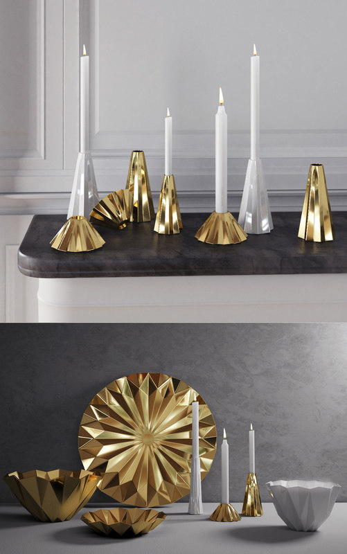 3D georg jensen supernova set