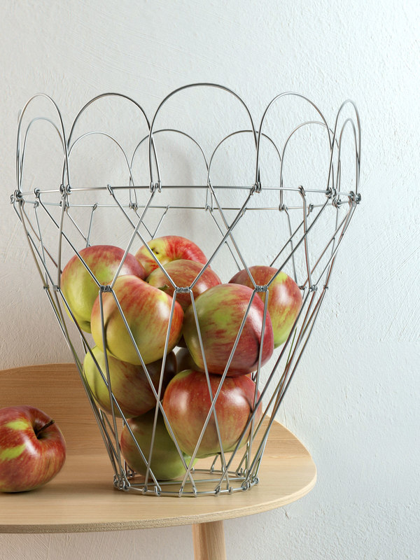3D auerberg simba fruit basket model