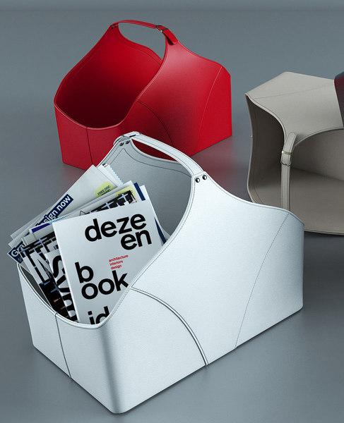3D calligaris utility storage bag