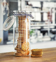 3D jar sandwich biscuits