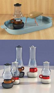 shorebird bugia lanterna 3D model