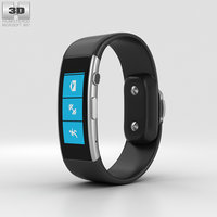 microsoft band 3D model