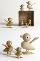 3D lucie kaas sparrow