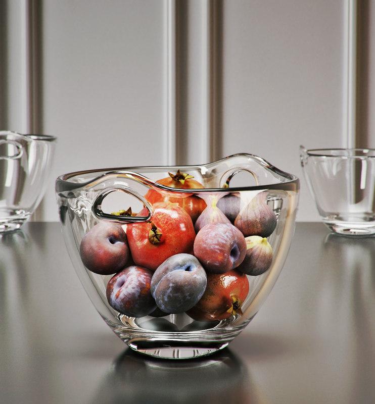 ono fruit bowl 3D model