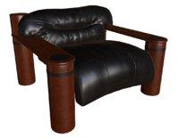 hacienda armchair loft 3D model