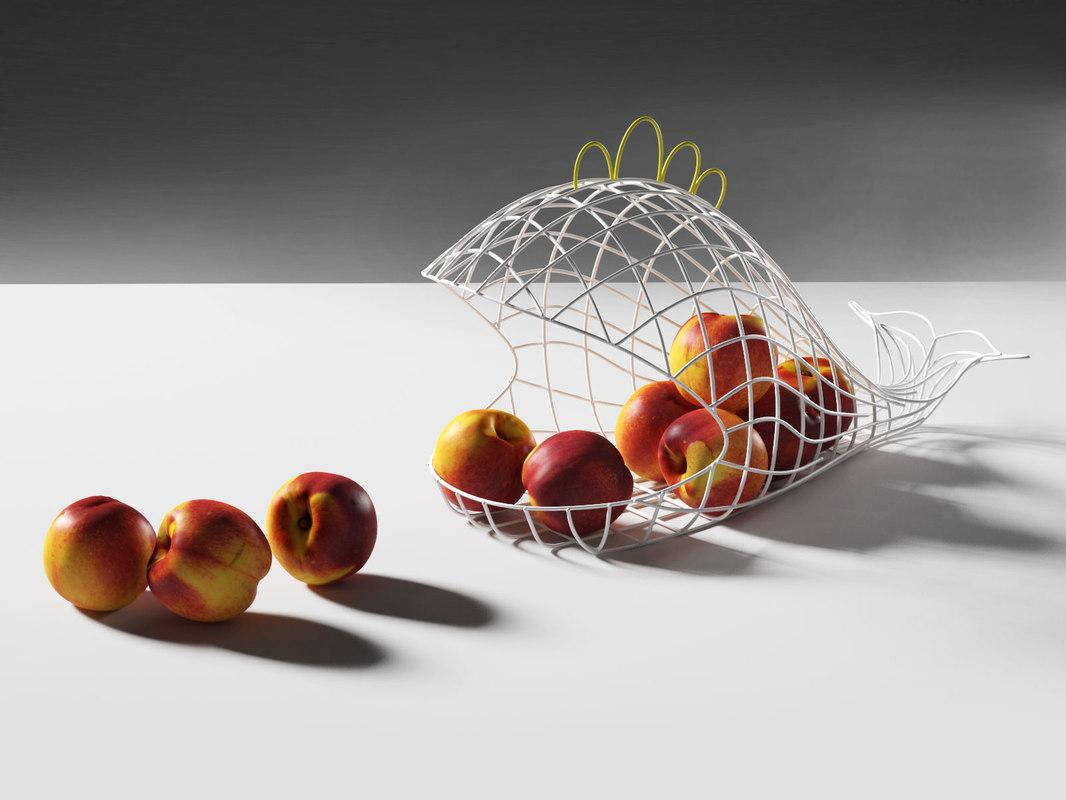 fantastico domestico fish basket 3D model