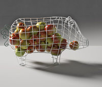 fantastico domestico pig basket 3D model