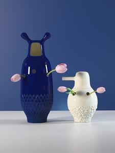 3D showtime vase