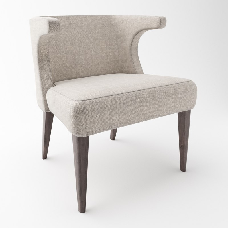 tori dining chair 3D model
