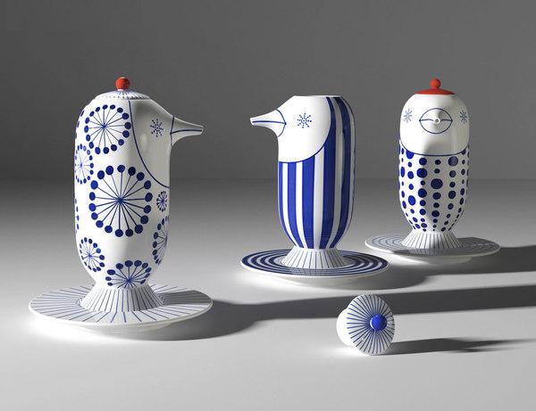 kutani choemon forma soy 3D model
