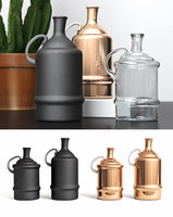 3D madam stoltz bottle vases