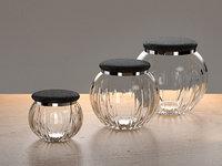 jars shagreen lids 3D model