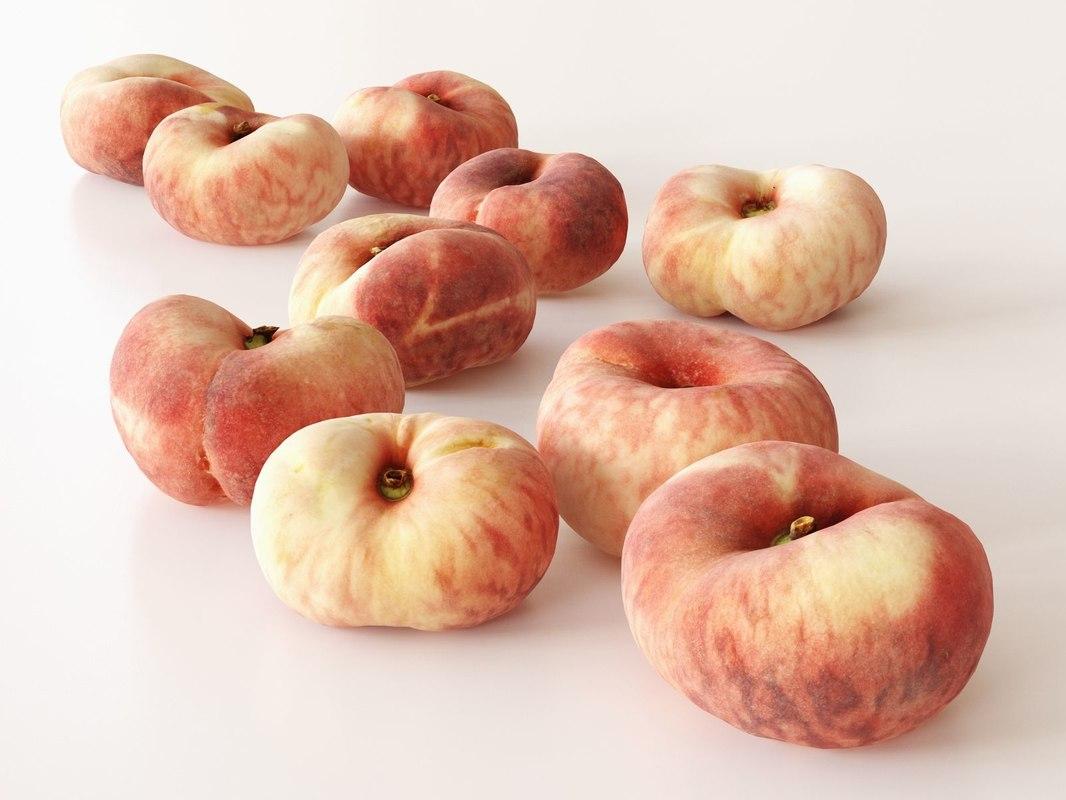 3D saturn peaches