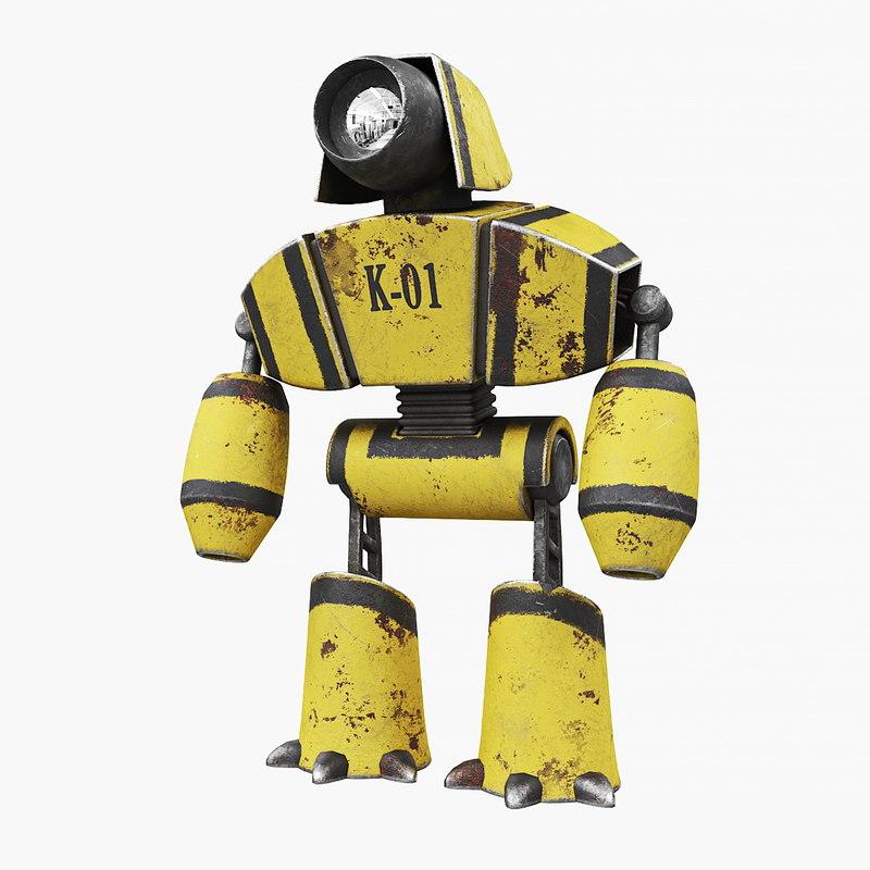 robot k-01 model
