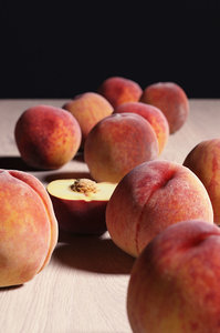 3D peaches model