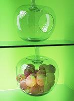 POLS POTTEN Apple Glass Fruit Bowl