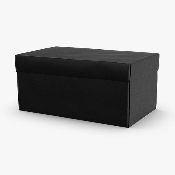 shoe-boxes---black 3D model