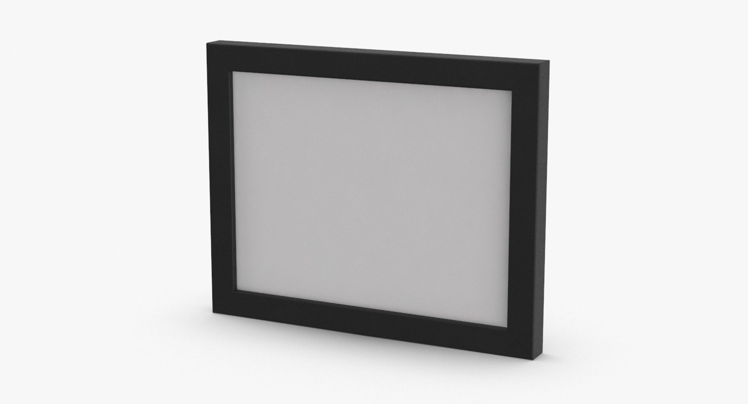 3D simple-picture-frames---frame-1 model - TurboSquid 1225979