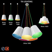 tk lighting artos 3D model