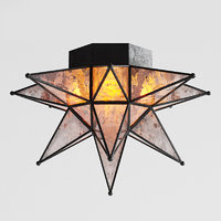 rh moravian star ceiling 3D model