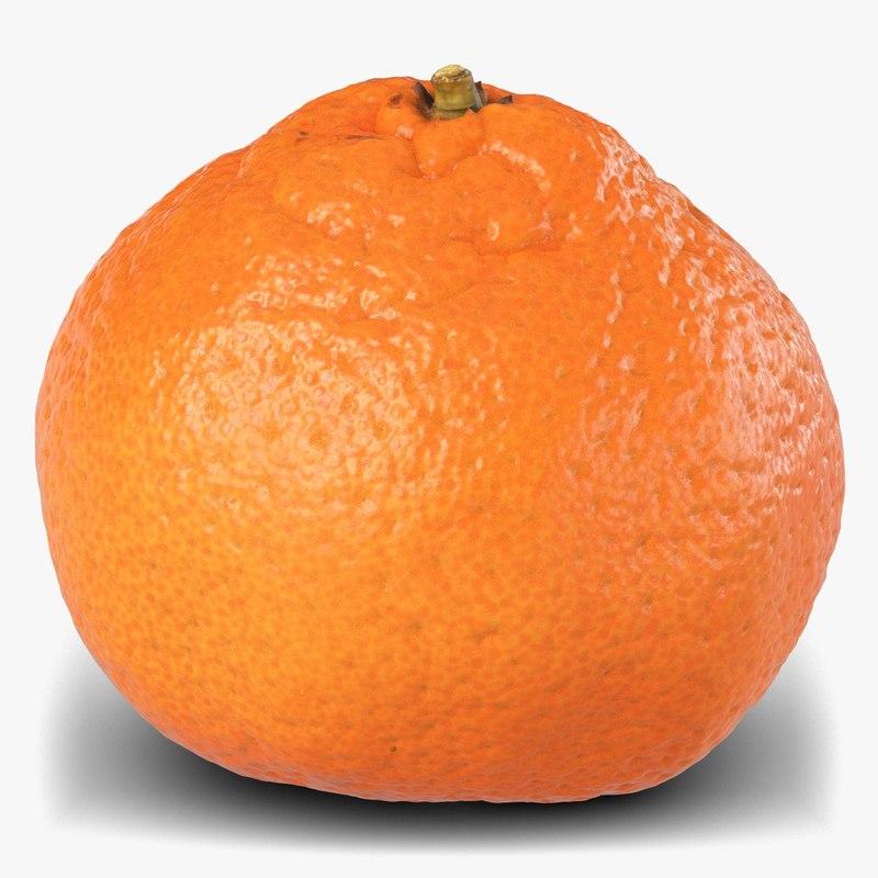 3D mandarin