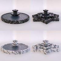 3D water model