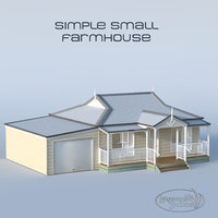 small farmhouse simple model