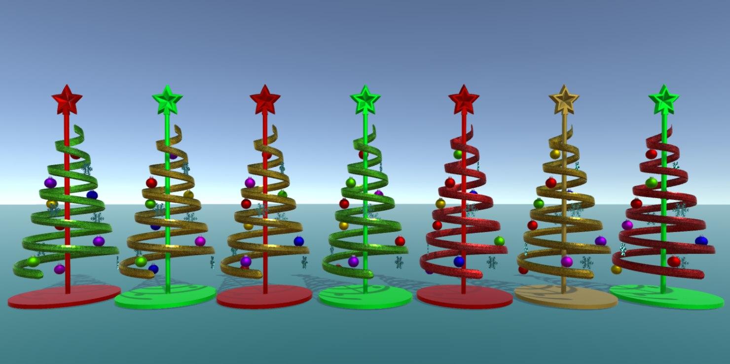 tree ribbon 3D