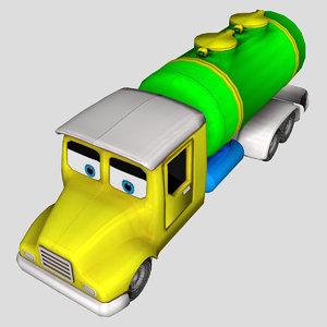 3D water tanker