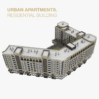 residential house apartment 3D model