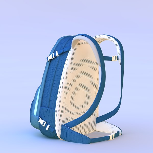 3D simple backpack