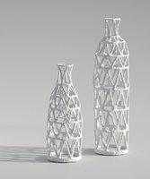 west elm papier-mache vases model
