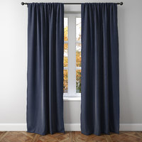 Belgian Linen Rod Pocket Curtain