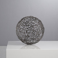 3D crate barrel iron decorative